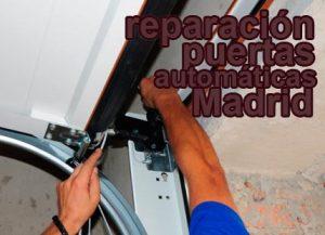 reparacion puertas automaticas madrid